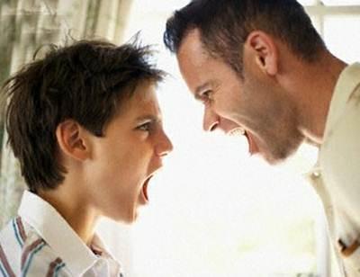 Description: Do not shout at your child unreasonably