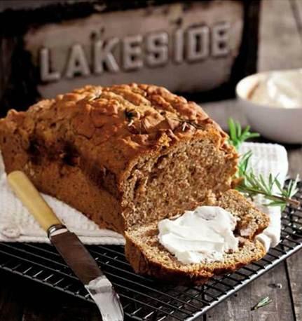 Description: Description: Rye and rosemary loaf