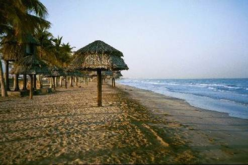 Description: Qurum Beach