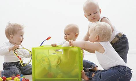 Description: Babies at this age still think the whole world revolves around them, so they need to be taught immediately.