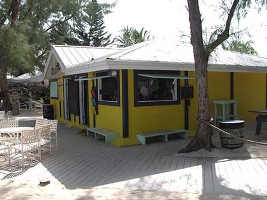 Description: Wreck Bar & Grill at Rum Point, Grand Cayman