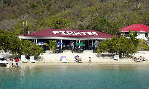 Description: Pirates Bight, Norman Island