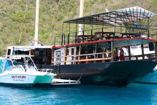 Description: The william Thornton Floating Bar & Restaurant