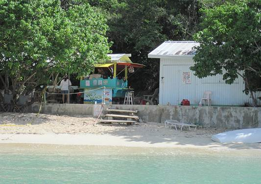 Description: Joe's Beach Bar, Water Island