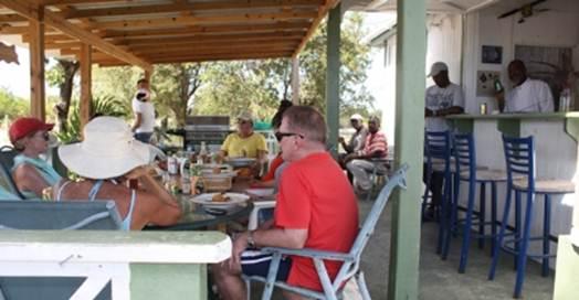 Description: Incle Roddy's Beach Bar & Grill, Barbuda