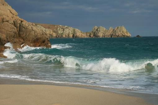 Description: Porthcurno beach