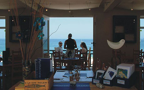 Description: Porthminster Beach Cafe, St Ives