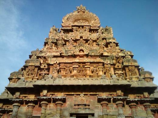 Description: Temple Corridor, Gangai- Kondacholapuram