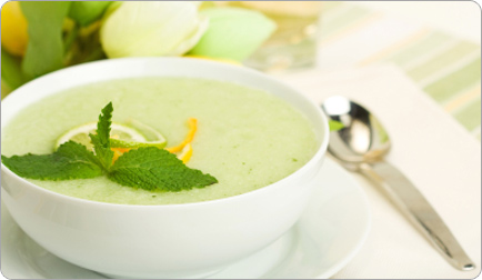Description: Melon soup