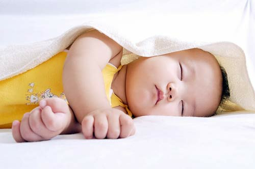 Description: Description: Prostrate sleeping increases the risk of sudden infant death syndrome for babies.