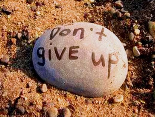 Description: Don't give up