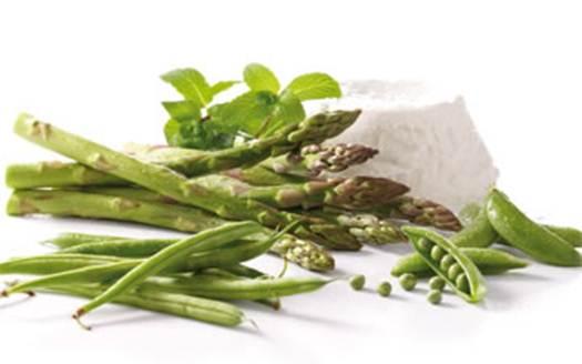 Description: Asparagus, pea and mint