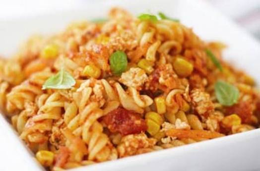 Description: Spicy chicken Bolognese