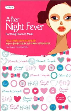Description: Cettuá After night Fever Soothing Essence Mask