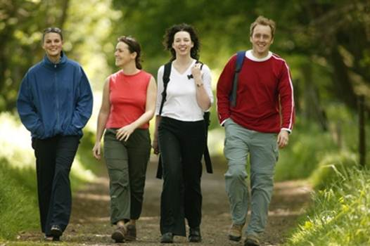 Description: a brisk walk daily can delay the ageing process by 12 years: it helps the body usr oxygen more effectively