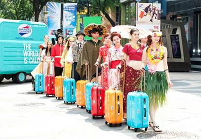 Description: Go on a fashionable travel with American Tourister