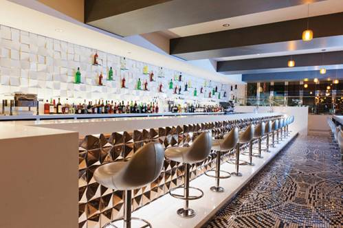 Description: Radisson Blu public spaces. The lobby's bar