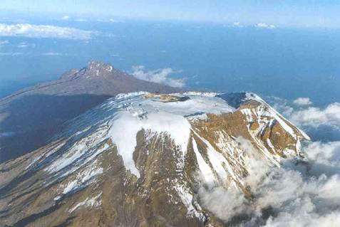 Description: At 5,895m/19,340ft Mt Kilimanjaro is the highest mountain in Tanzania and in all Africa