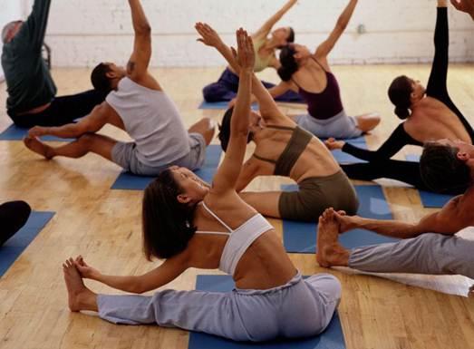 Description: a gym class