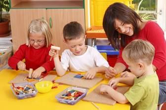 Description: Children in kindergarten