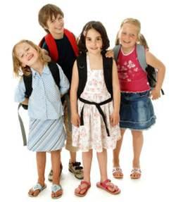 Description: School children