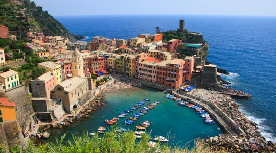 Description: the Italian Riviera