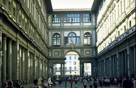 Description: Uffizi Florence Italy