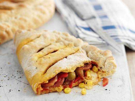 Description: Each hearty calzone serves two – and cooks from frozen!