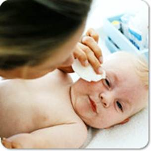 Description: Cleaning your baby