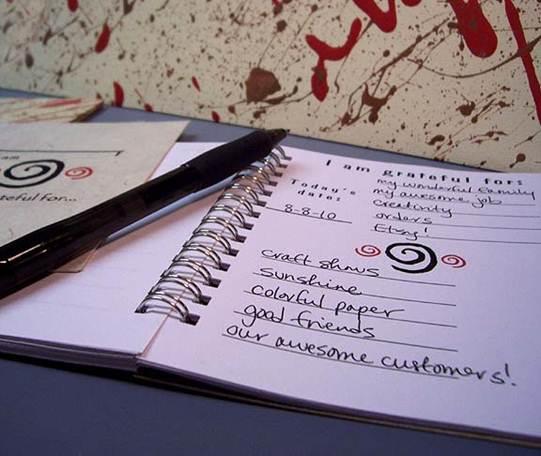 Description: Create a gratitude list