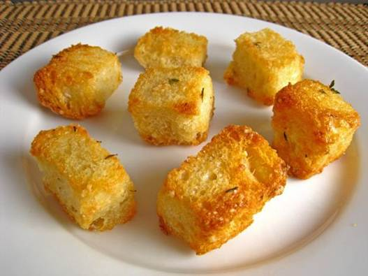Description: Start by making the croutons
