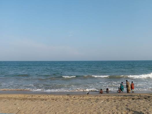 Description: Auroville beach