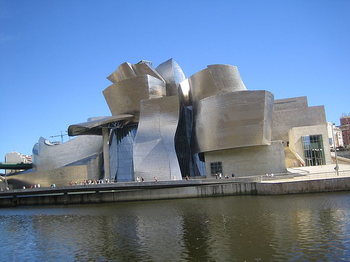 Description: the Guggenhiem Museum Bilbao