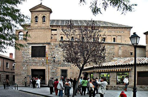 Description: El Transito Synagogue is one of the main attractions in Toledo Spain