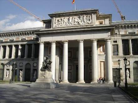 Description: the Royal Collections Museum in Madrid
