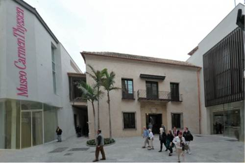 Description: Carmen Thyssen Museum, Malaga