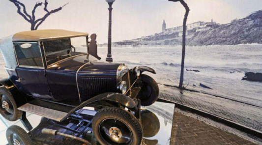 Description: Description: A 1920s Citroen in the museum