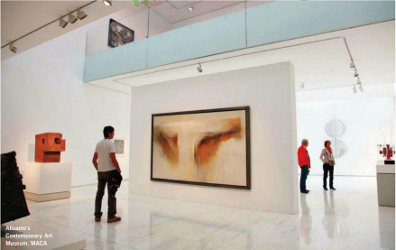 Description: Description: Alicante's contemporary Art museum, MACA