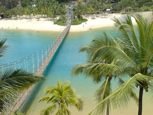 Description: Set sail for Sentosa's Palawan Beach, where the Port of Lost Wonder is docked.