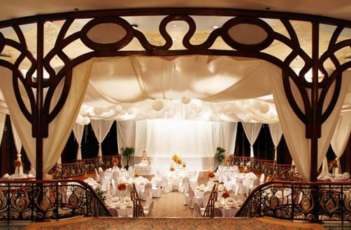 Description: Manila Hotel ballroom