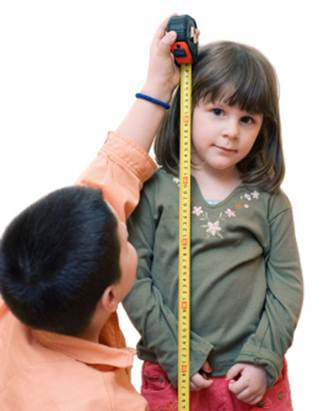 Description: A tall smart child is an inspiration of many parents.