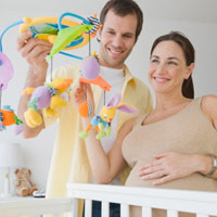 Description: You can shop for newborn's objects in last three months of pregnancy