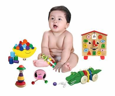 Description: Safe wooden toys for kids