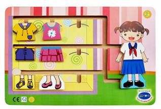Description: Female kid's fashion