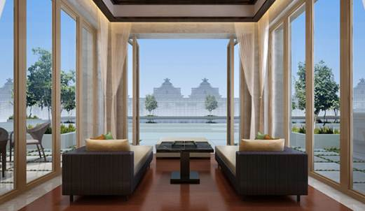 Description: the New Banyan Tree Macau Resort
