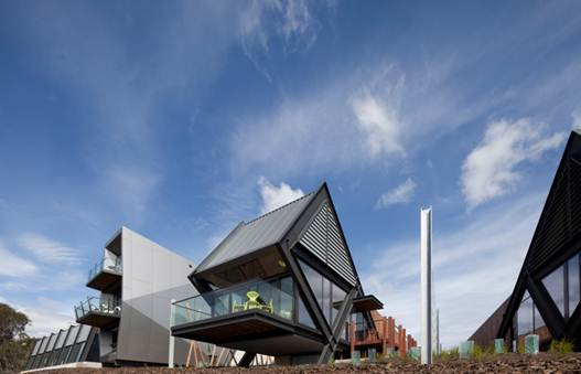 Description: MONA Pavilions, Tasmania, Australia