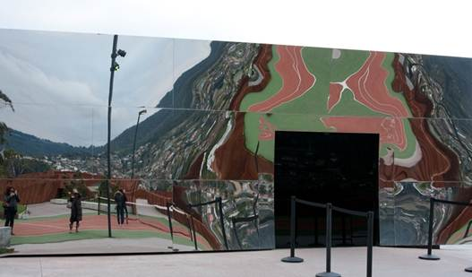 Description: MONA, an acronym for Museum of Ola and New Art
