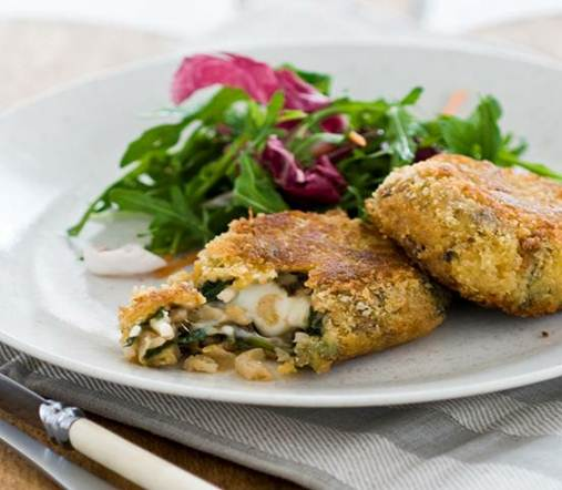 Description: Veggie Risotto Cakes