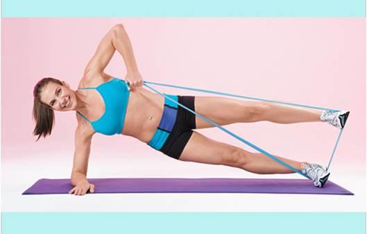 Description: You love gym workouts add a resistange band