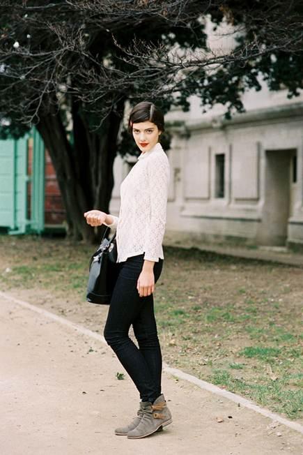 Description: South African model Katryn Kruger,